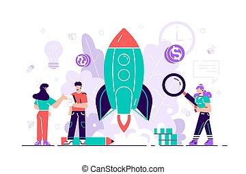startup , αυτό , επιχείρηση , αρχή , ή , πάνω