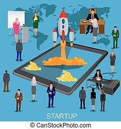 startup , εκκίνηση , άπειρος αρμοδιότητα