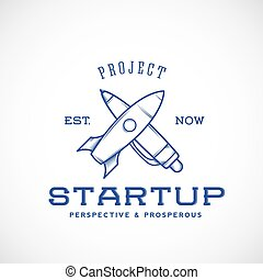 Startup Abstract Vector Logo Template