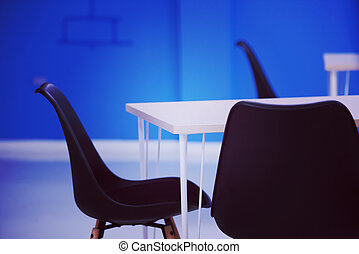 startup business office interior