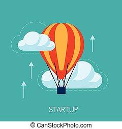 Startup Concept Art