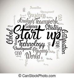 Startup Development Business Brainstorming Infographic