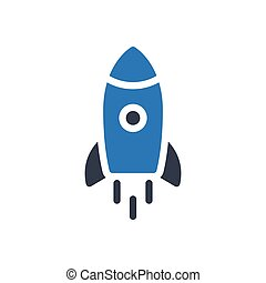 startup  glyph color icon