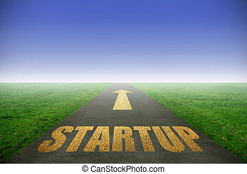 Startup gold road