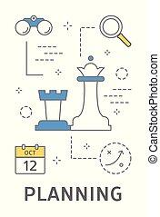 Startup planning concept,