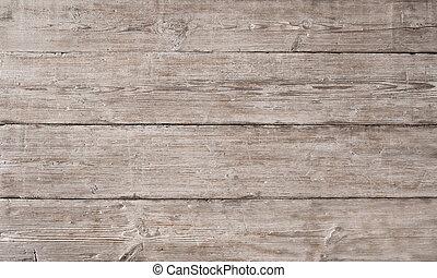 stary, drewniany, lekki, ziarno drewna, deska, tło, włókno, ...