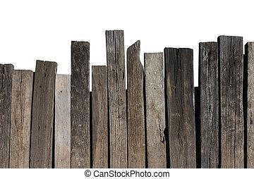 stary, drewno, tło
