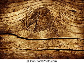 stary, drewno