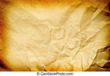 stary, papier