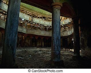 stary, teatr