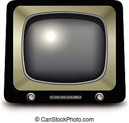 stary, telewizja