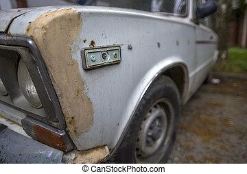 stary, wóz