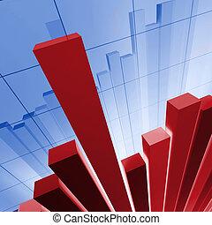 stat, financiero, plano de fondo