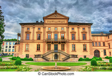 State archives in Sigmaringen - Baden-Wurttemberg, Germany -...