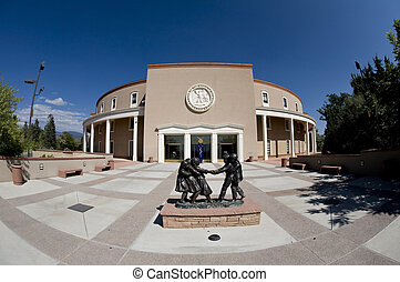 State Capital of New Mexico.