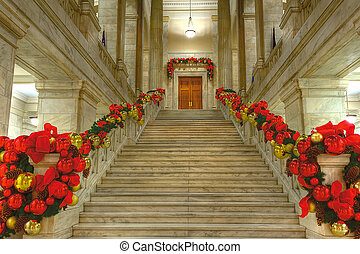 State Capitol at Christmas