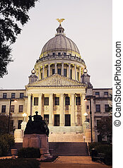 State Capitol Building in Jackson, Mississippi, USA
