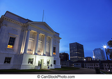 State Capitol Building of Virginia