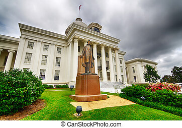 State capitol in Montgomery, AL