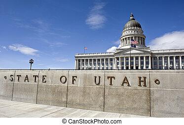 State Captital Utah. - State Capital in Salt Lake City, Utah...