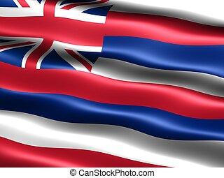 State flag: Hawaii