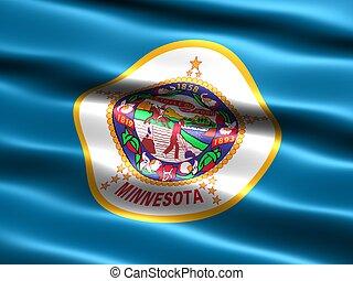 State flag: Minnesota