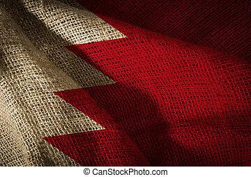 State flag of Bahrain