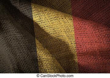 State flag of Belgium