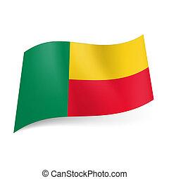 State flag of Benin.