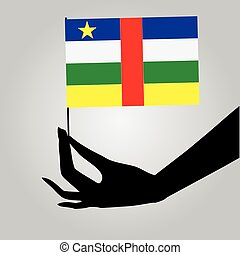 State flag of Central African Republic