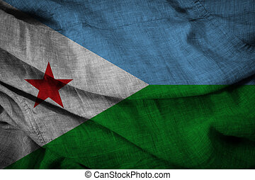State flag of Djibouti
