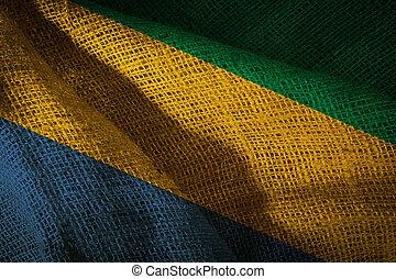 State flag of Gabon