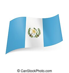 State flag of Guatemala.