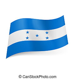 State flag of Honduras