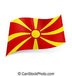 State flag of Macedonia