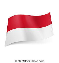 State flag of Monaco