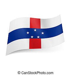 State flag of Netherlands Antilles