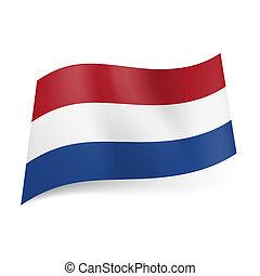 State flag of Netherlands.
