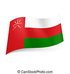 State flag of Oman