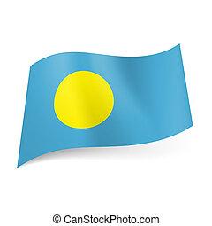 State flag of Palau.