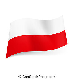 State flag of Poland.