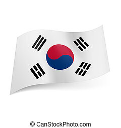 State flag of South Korea