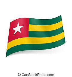 State flag of Togo