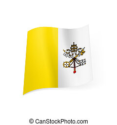 State flag of Vatican City