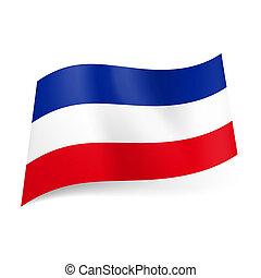 State flag of Yugoslavia