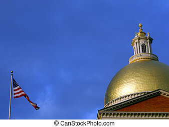 state house flag