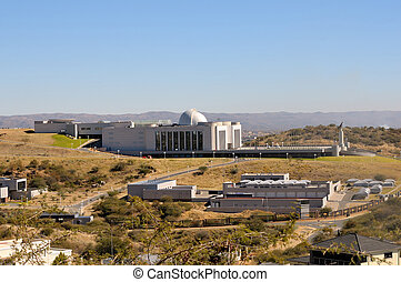 State House in Windhoek - The new State House in Windhoek,...