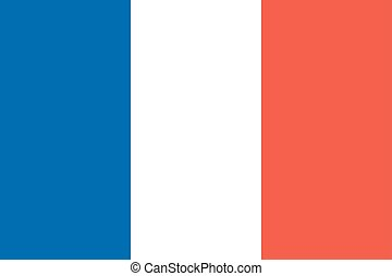 State national flag of France