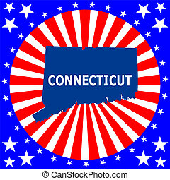 state of Connecticut - map of the U.S. state of Connecticut