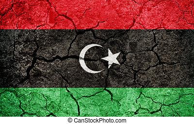 State of Libya flag